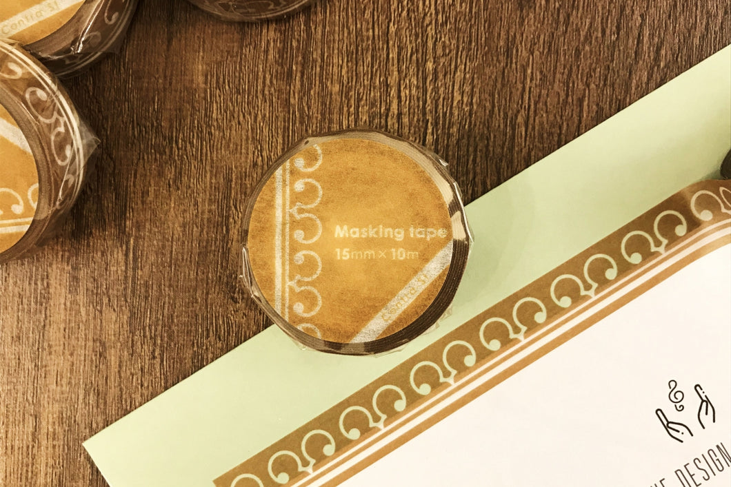 【Alto Clef】Contra-st Masking Tape - SomeMusicDesign | Music Gifts