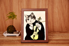 Load image into Gallery viewer, 【Violin】Portrait of Classicats - SomeMusicDesign | Music Gifts