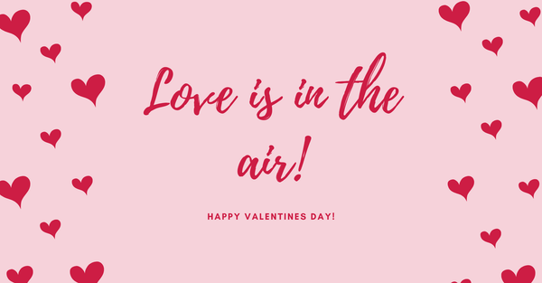 Love is in the air! - A Valentines Special - Penta Scents