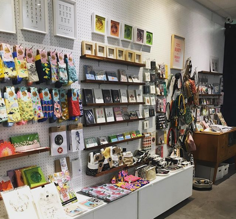 Quirky gift shop in Cape Town, South Africa - locally made products