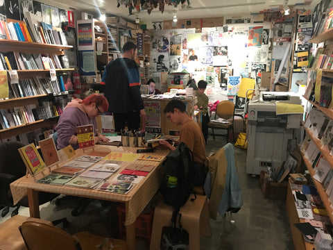 Sticky Institute Zine store Melbourne