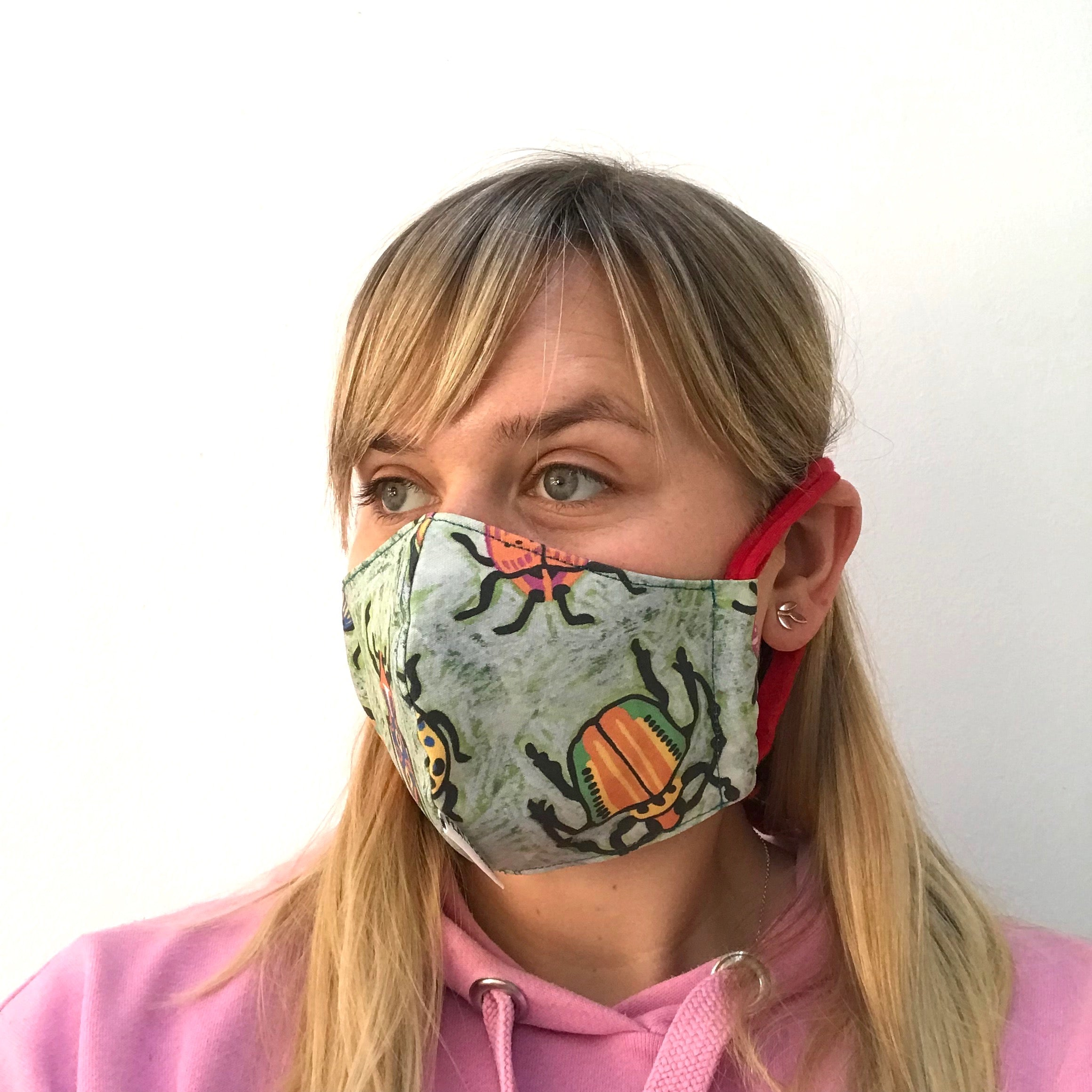 Bugs Fabric Face Mask