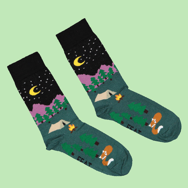 Ladies' Night Camping socks