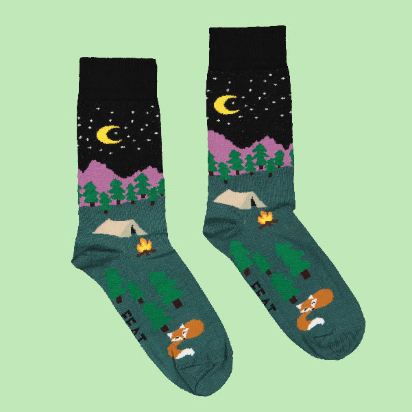 Men's Night Camping socks