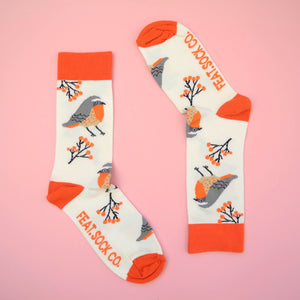 Men's Cape Robin-chat socks
