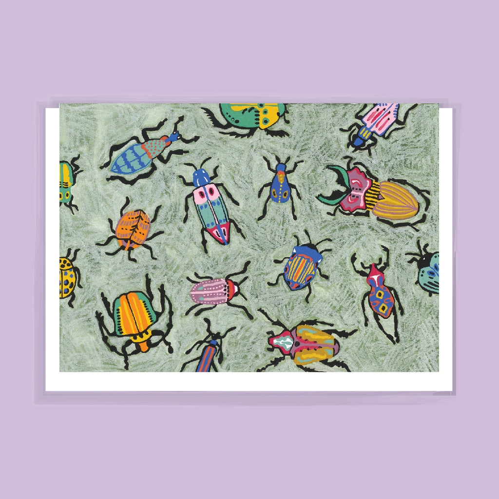 Bugs Greeting Card by FEAT. sock co.