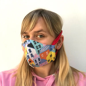 Town Fabric Face Mask