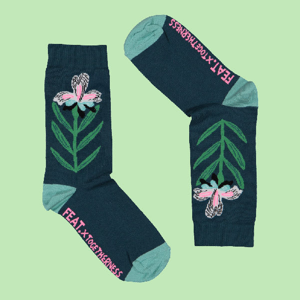 Men's Iris socks by Togetherness