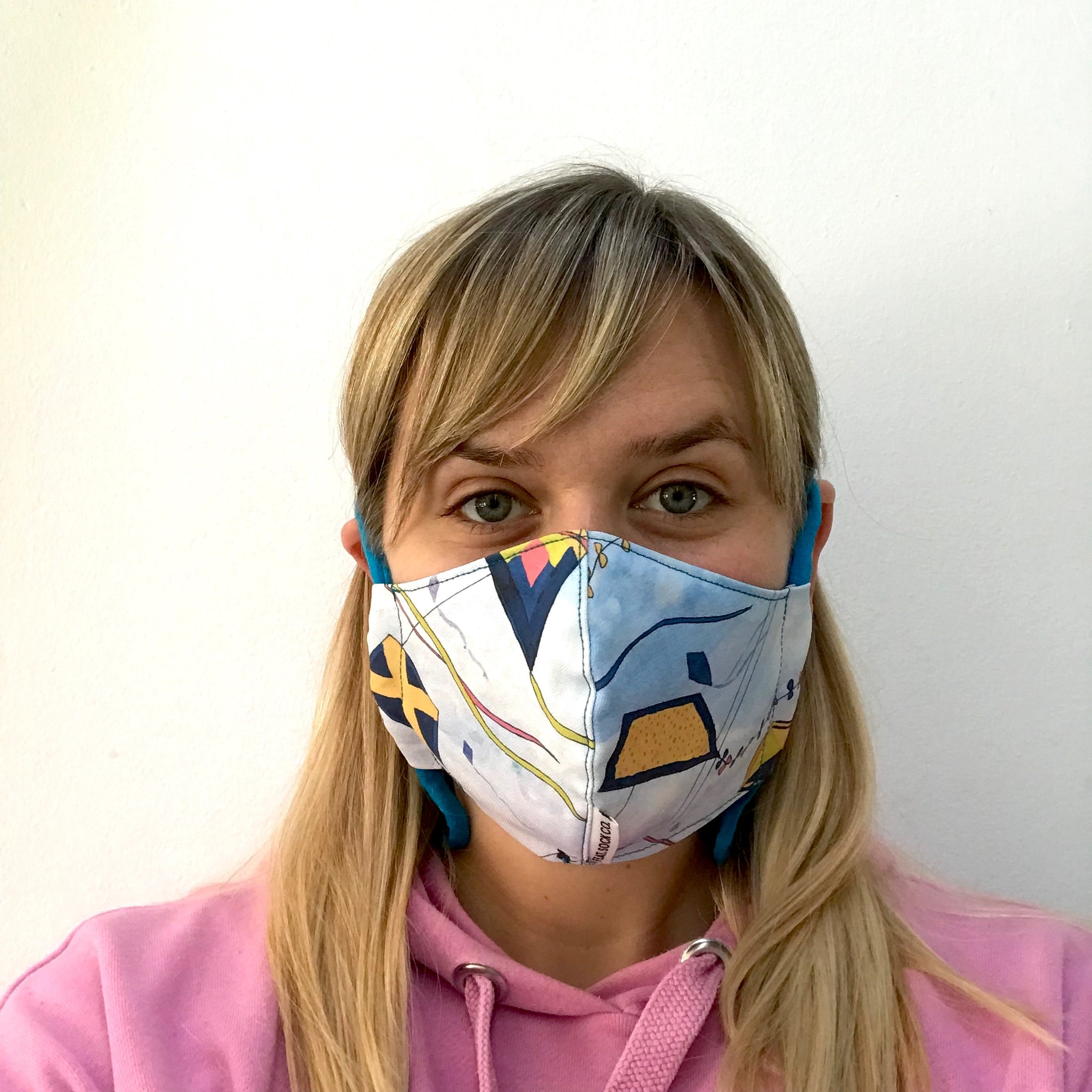 Kites Fabric Face Mask (SA only)