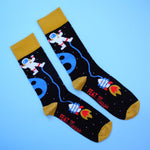 Men's Gravity socks by Maggie Gelderblom