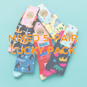 Mixed Size 5-pair 'Lucky Pack'