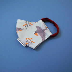 Cape Robin-chat Fabric Face Mask