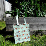 Reusable Cape Robin-chat Shopper - 100% recycled