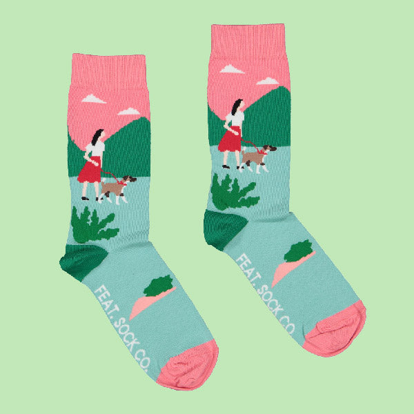 Ladies' Walking Seb socks