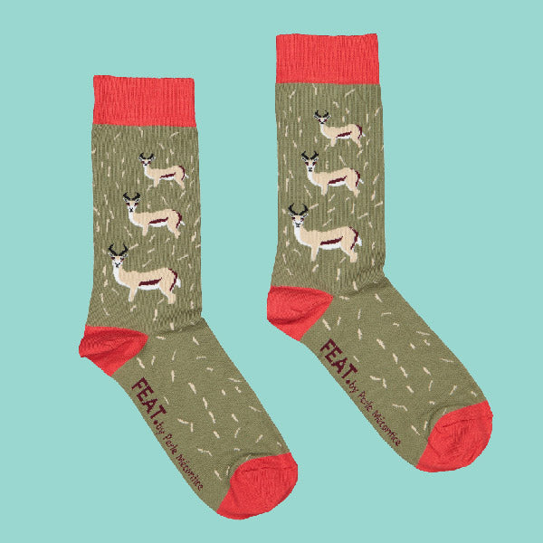 Ladies' Springbok socks by Perle Mécontice