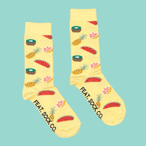 Ladies' Summer Fruit socks