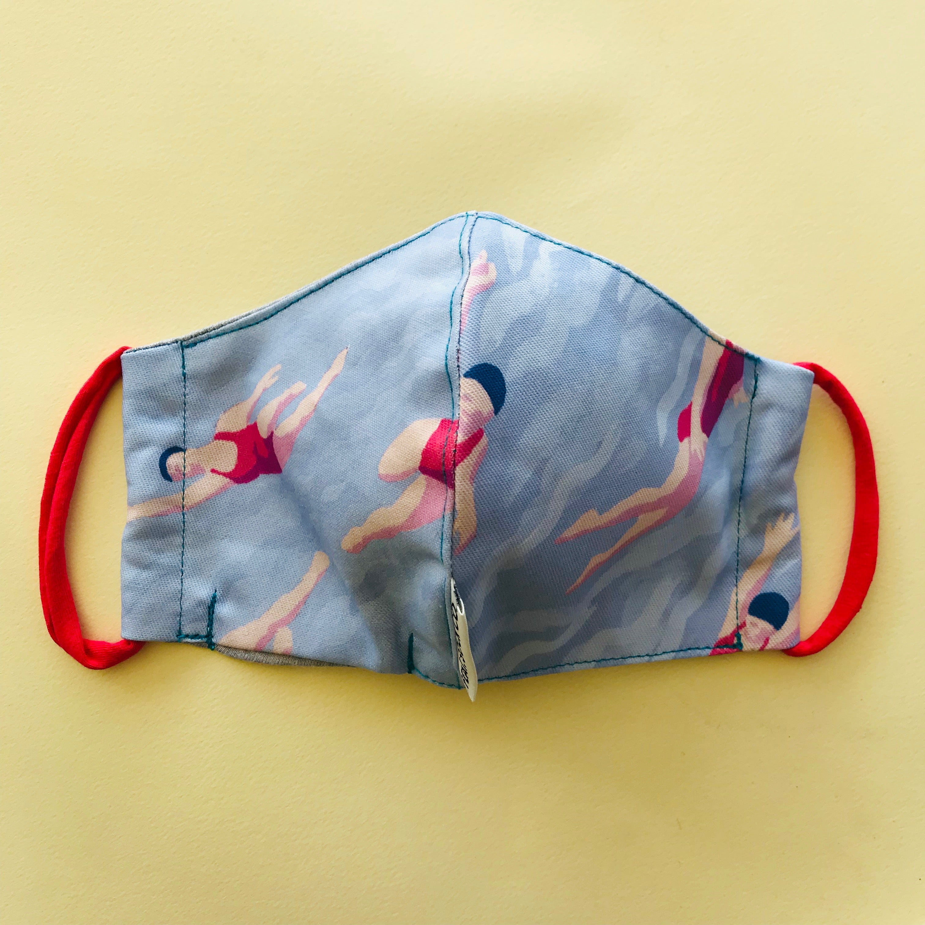 Swimmers Fabric Face Mask