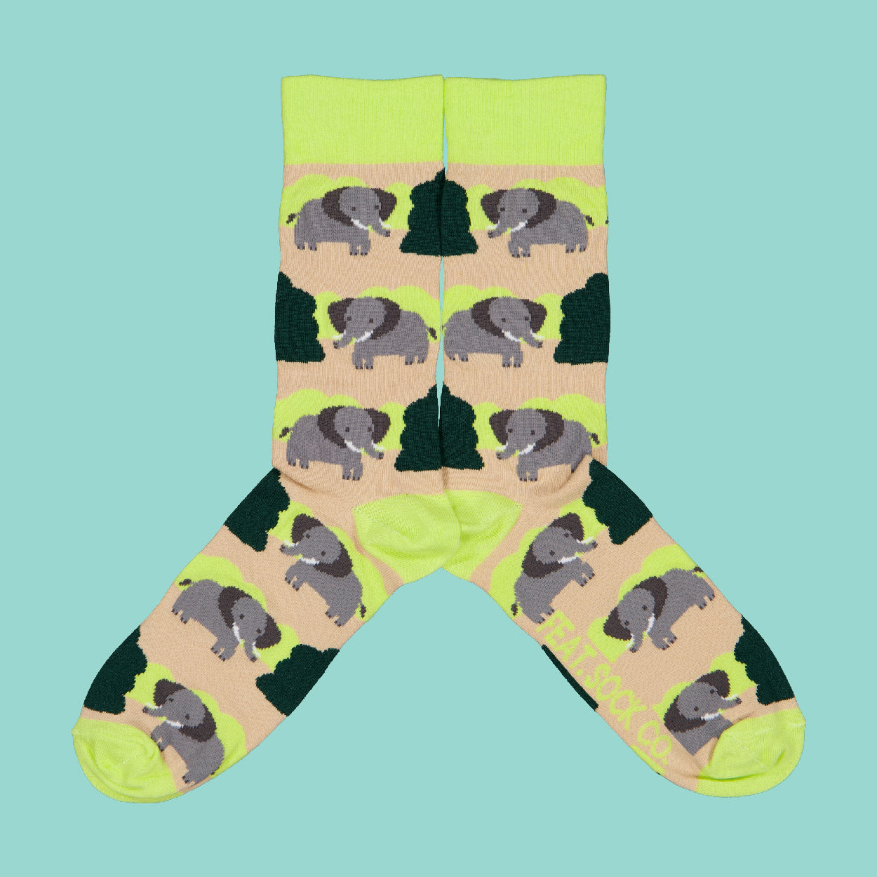 Men's Bushveld Elephant socks