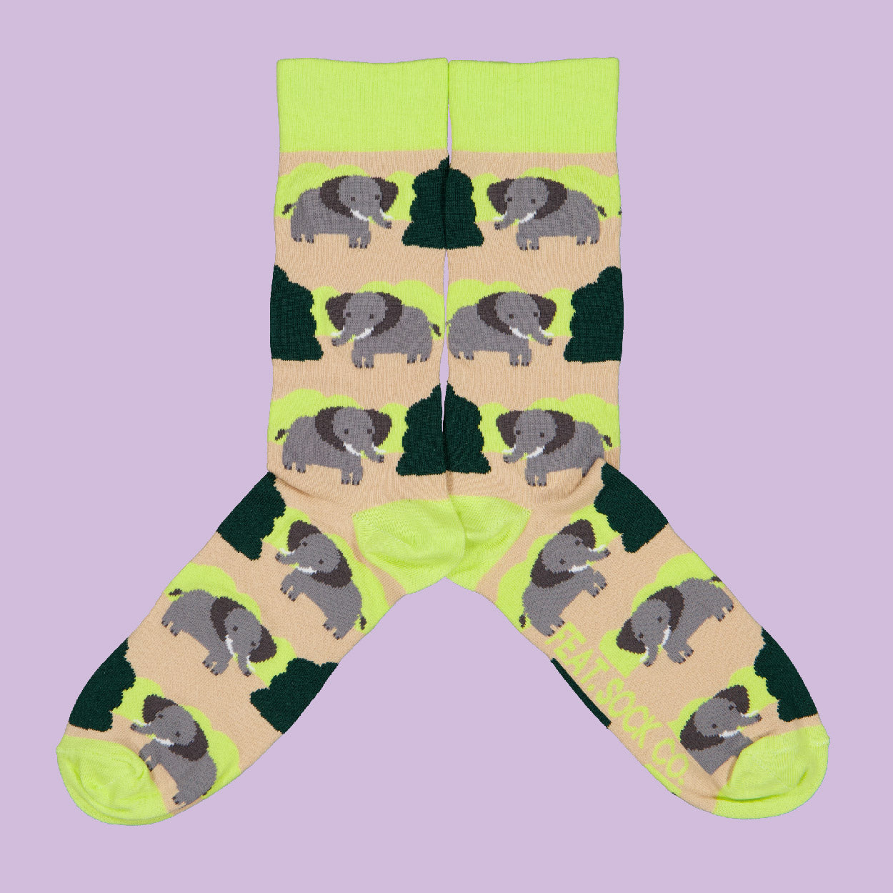 Ladies' Bushveld Elephant socks