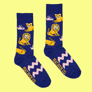 Ladies' Lion Pride socks
