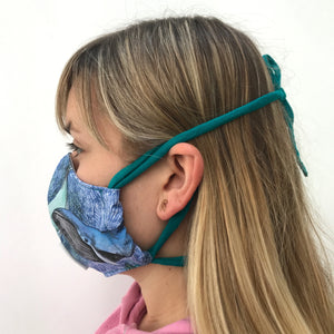 Whale Fabric Face Mask
