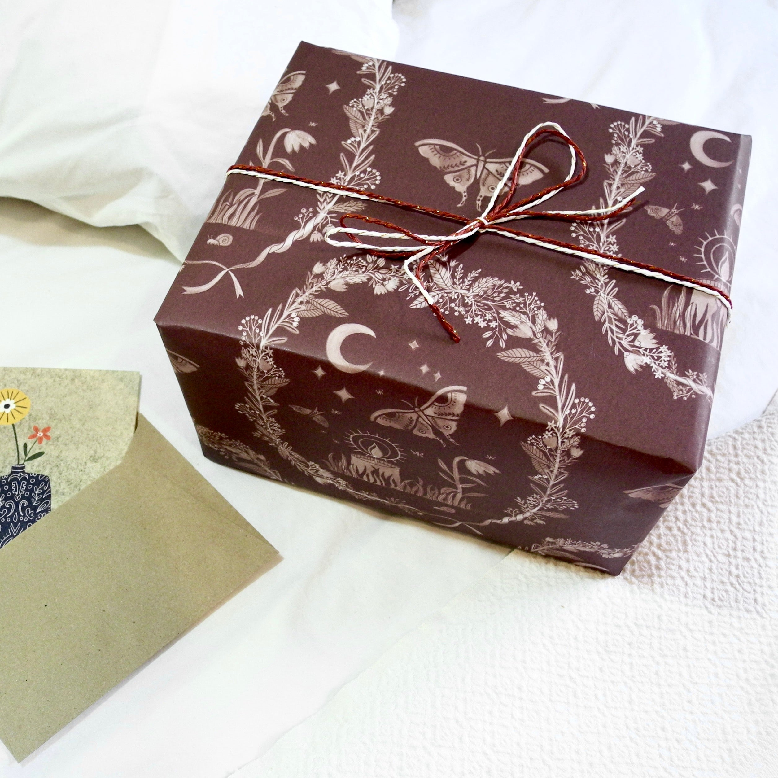 Moth to a Flame Gift Wrapping