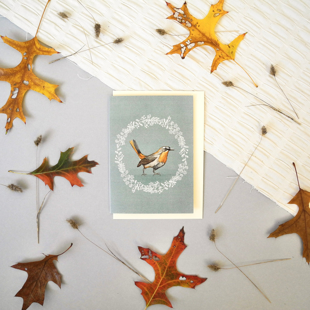 Cape Robin Greeting Card
