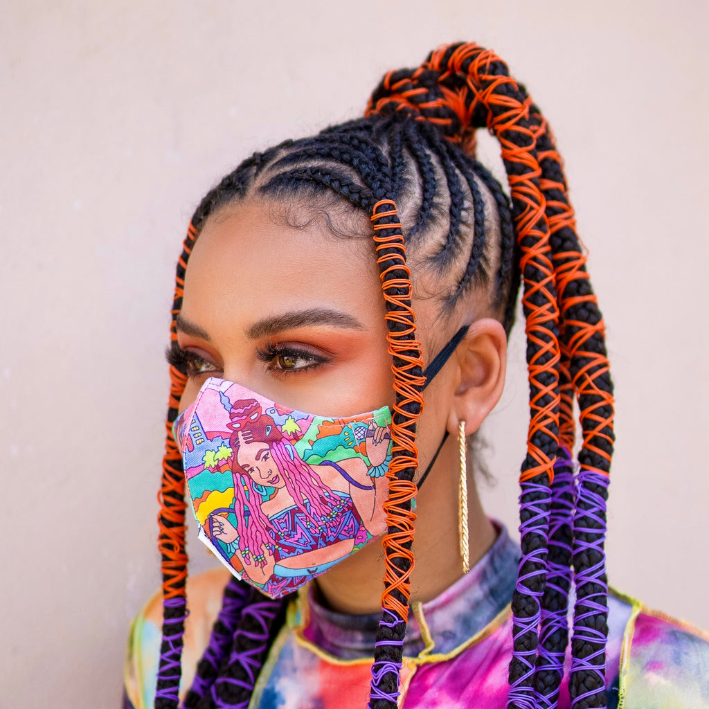 'Sesi Madjozi' Fabric Face Mask