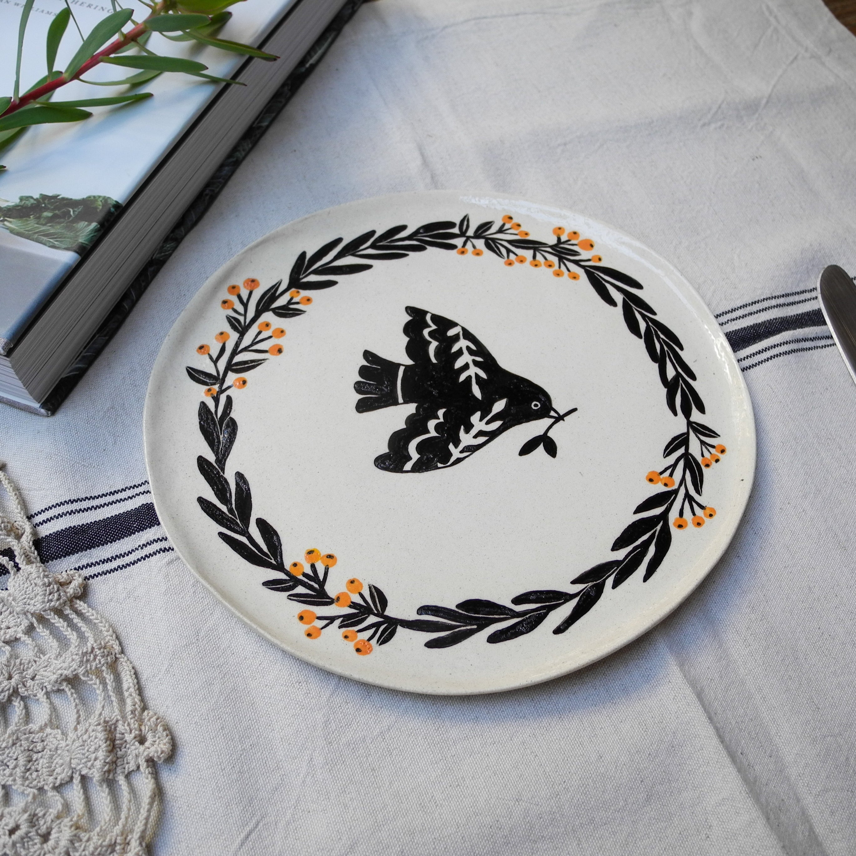 'Fly away home' Plate