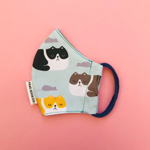 Grumpy Cat Fabric Face Mask