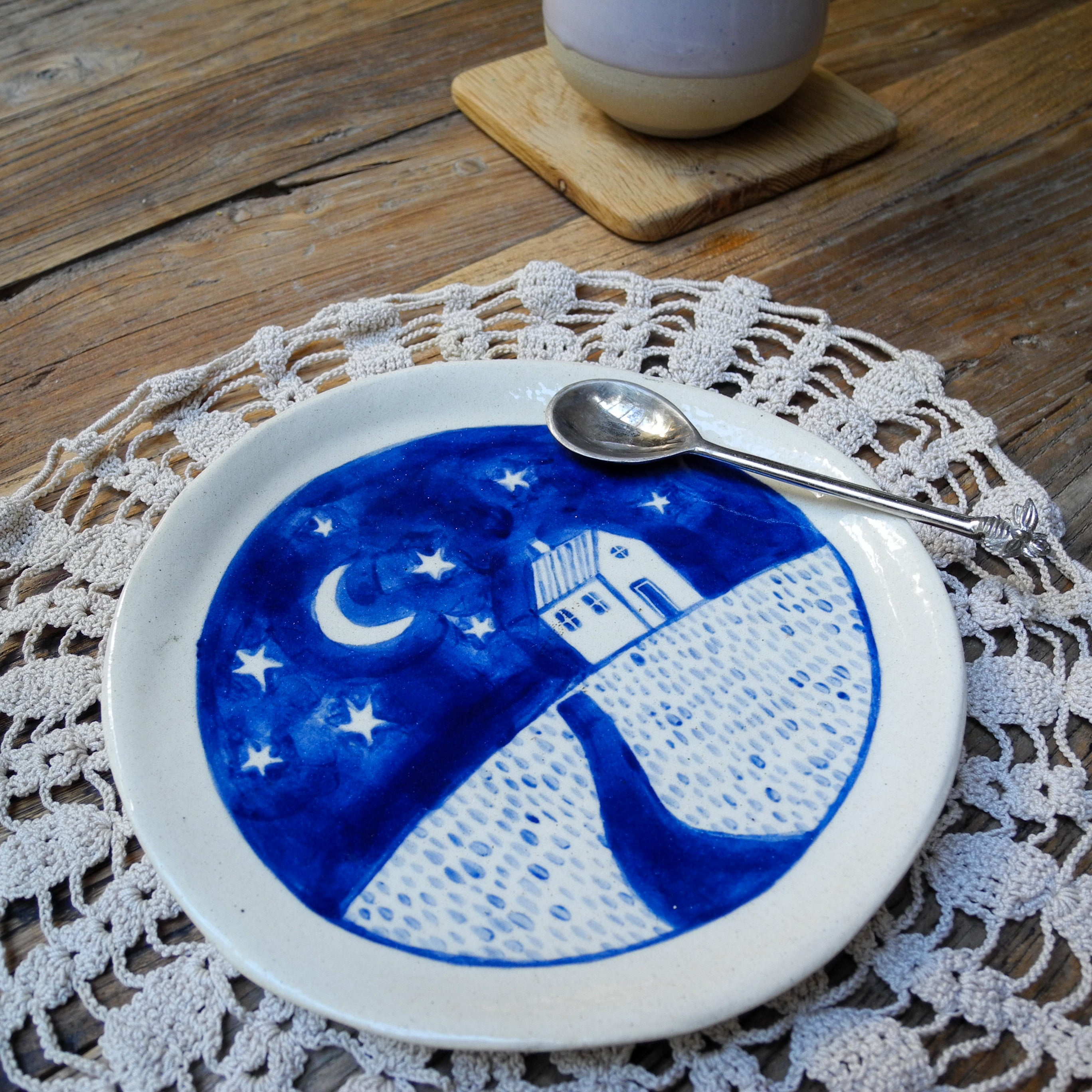 'Home Under The Stars' Side Plate