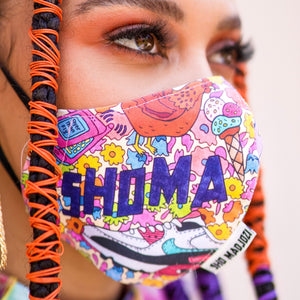 'Shoma Djozi' Fabric Face Mask