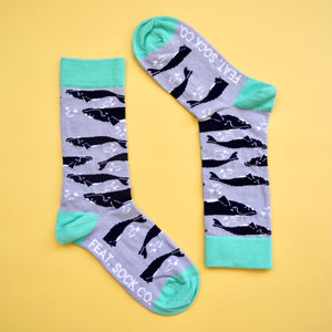 Ladies' Southern Right Whale socks