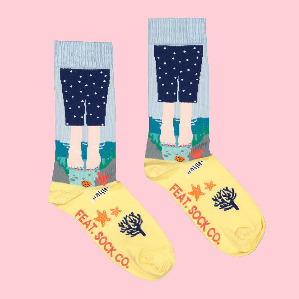 Ladies' Rock Pool socks