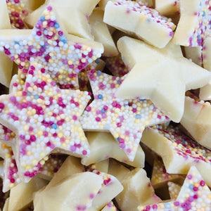 White Chocolate Snowie Stars
