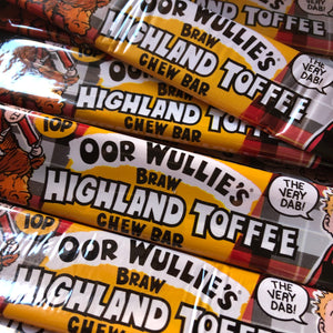 Highland Toffee Chew Bar - Oor Wullies