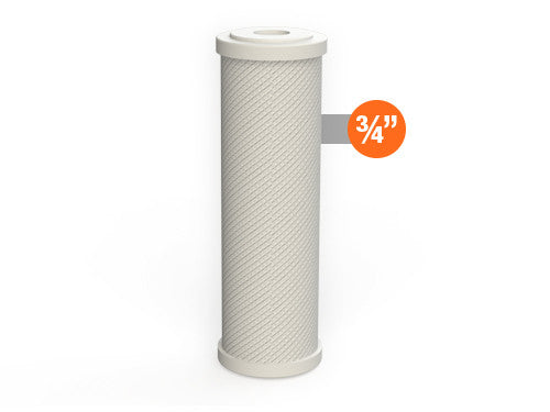 Carbon Block Filter - 10 x 2.5 inch