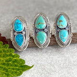 The Twin Peaks Turquoise Ring