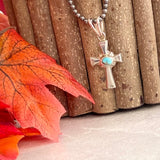 The Almeria Silver Cross Pendant