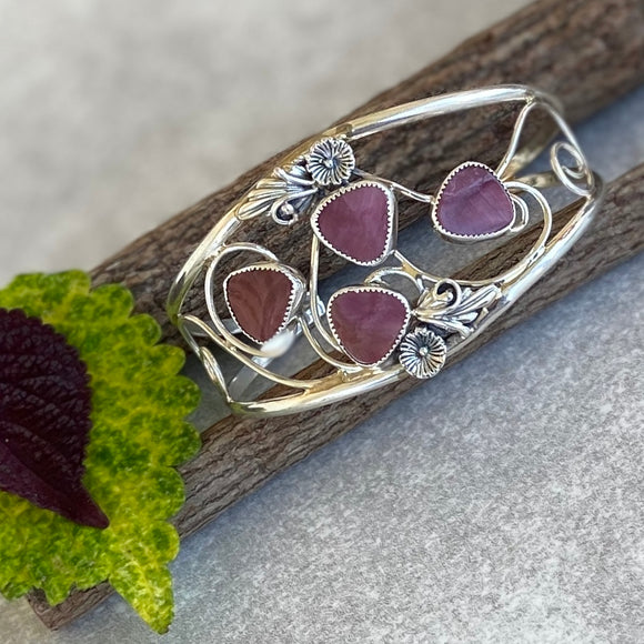 The Esmeralda Purple Spiny Bracelet