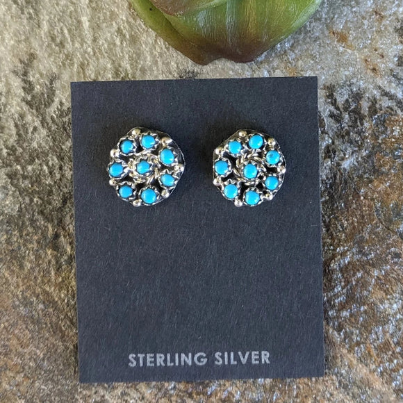 The Turquesa Cluster Earrings