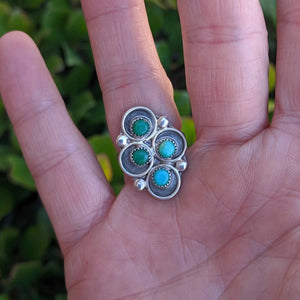 The Calera Vintage Turquoise Ring