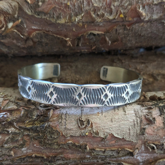 The Santa Fe Fire Sterling Silver Bracelet
