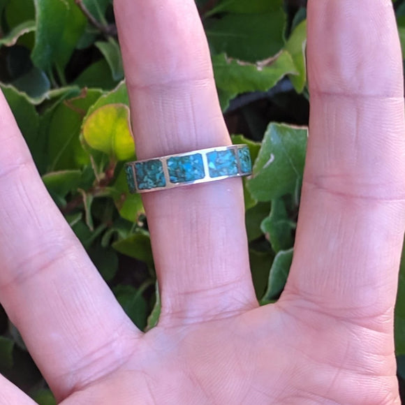 The Galisteo Turquoise Vintage Ring