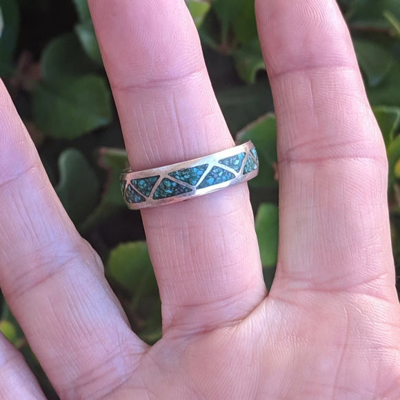 The Leon Turquoise Vintage Ring