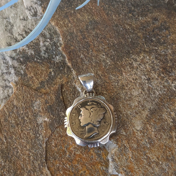 The Winged Liberty Dime Pendant