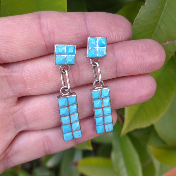 The Alto Turquoise Vintage Earrings