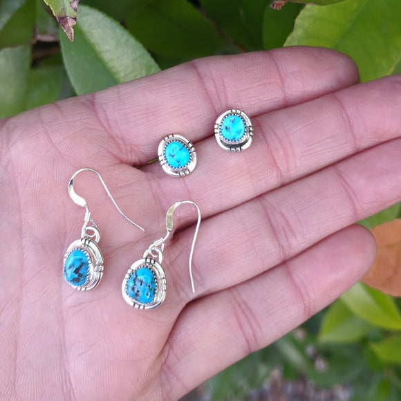 The Camargo Turquoise Earrings
