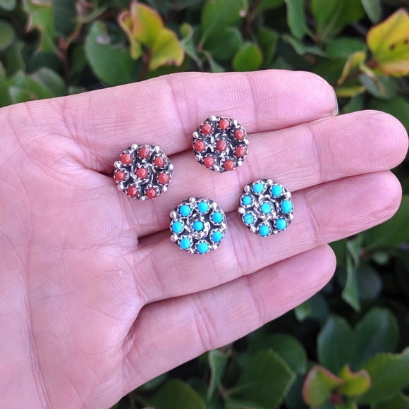 The Coralino Cluster Earrings