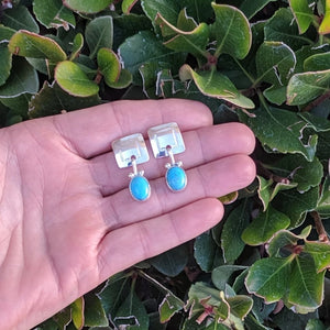 The Manzano Turquoise Earrings